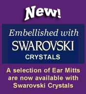 Click the image for more information about Ear Mitts with Swarovski Crystals